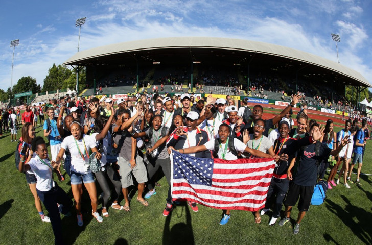 Eugene also hosted last summer's World Junior Athletics Championships ©Getty Images