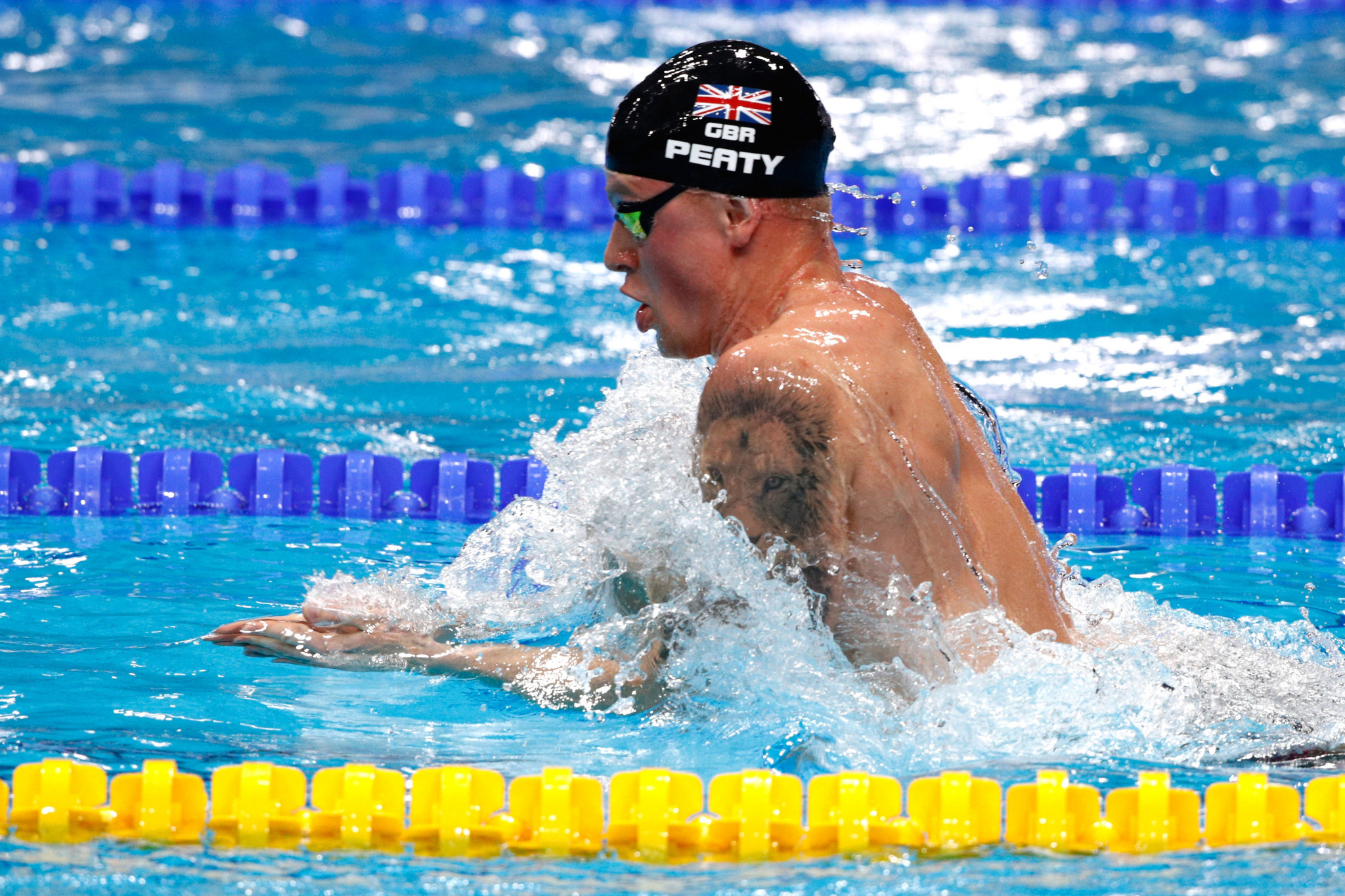 Olympic champion and world record holder Adam Peaty is among the athletes already confirmed for the Games ©Getty Images