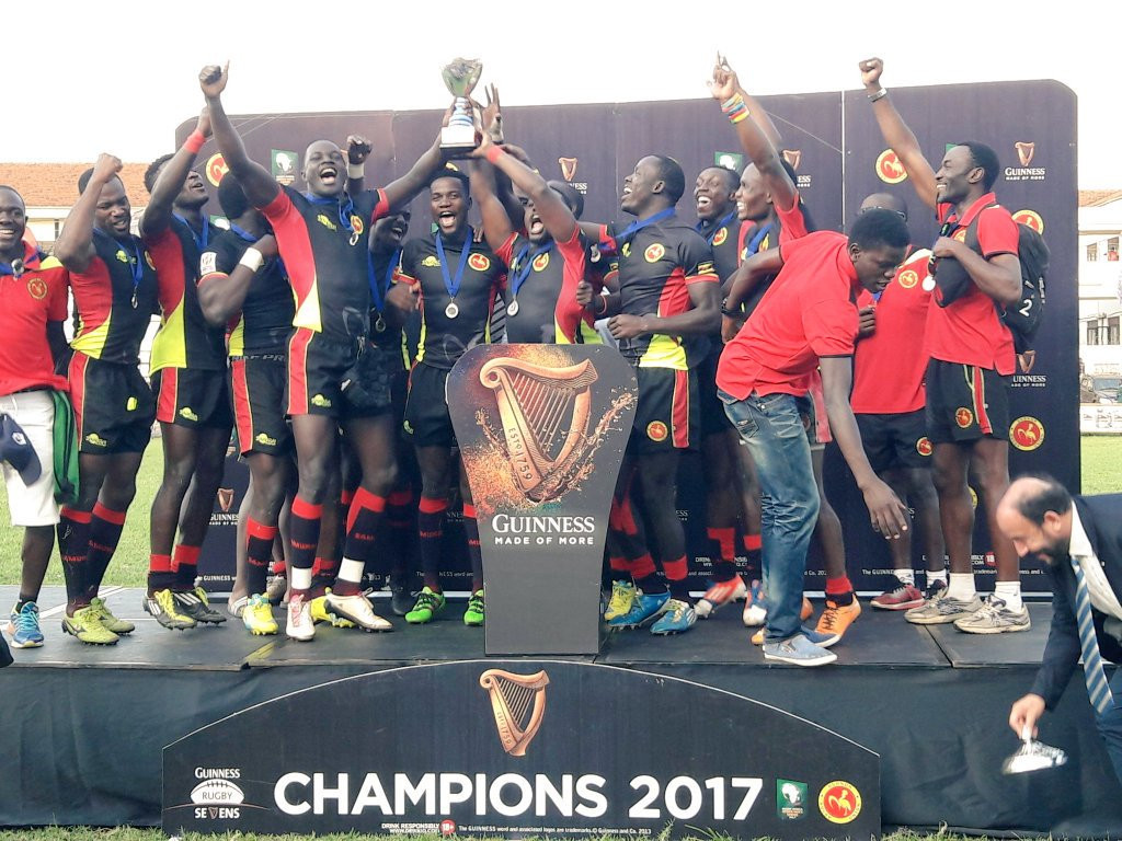 Uganda booked their place at Gold Coast 2018 by winning the Africa Cup Sevens ©Twitter/NOC Uganda