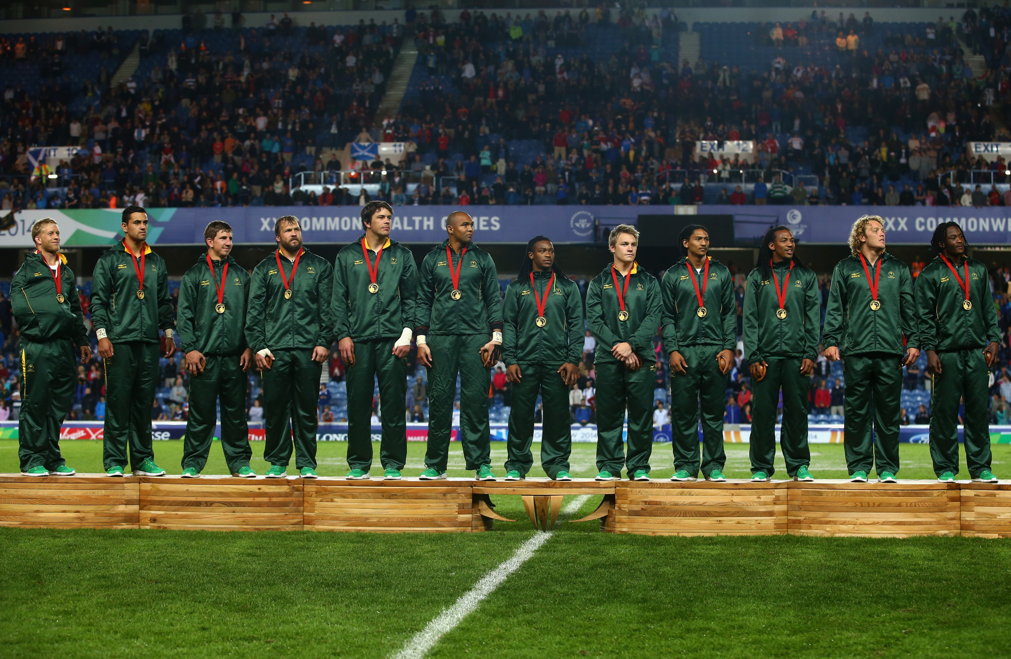 South Africa are the defending men's champions after winning at Glasgow 2014 ©Getty Images