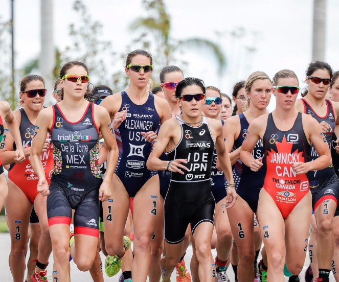 Ide beats heat to win ITU World Cup title in Sarasota