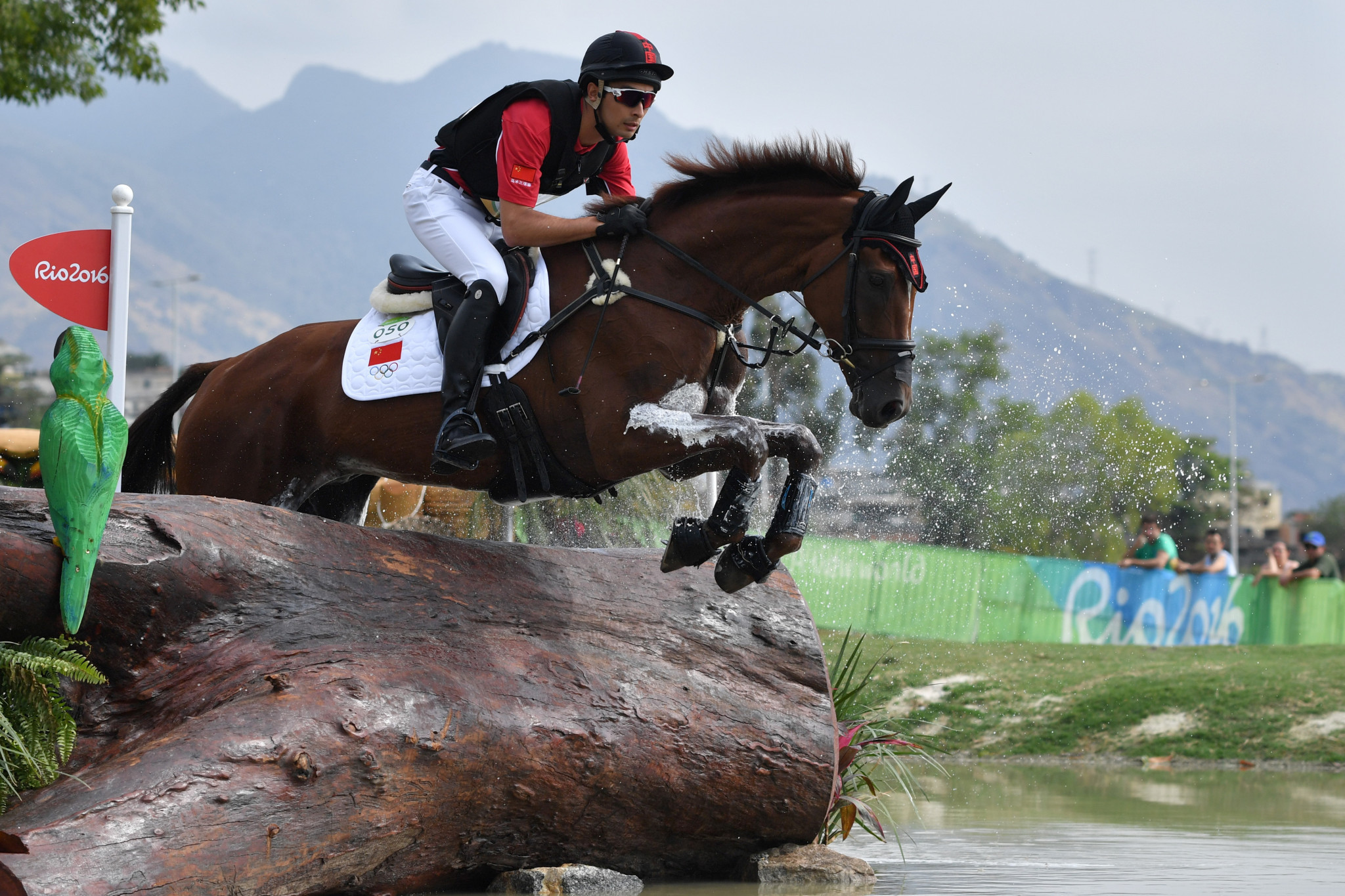 Alex Hua Tian represented China in eventing at the Rio 2016 Olympics ©Getty Images