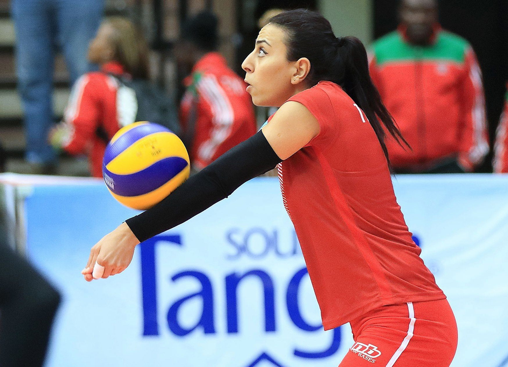 Tunisia came from behind to defeat Nigeria ©CAVB