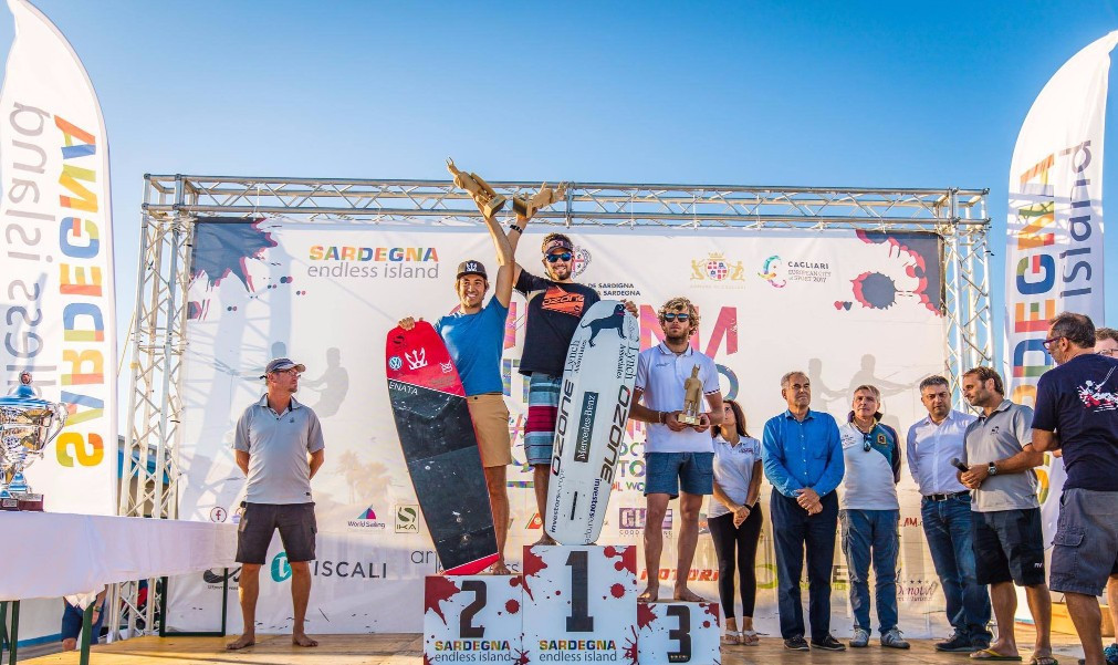 Parlier dominates final day to win KiteFoil GoldCup