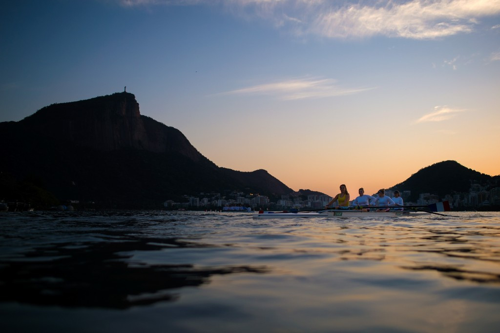 Fifteen members of US team taken ill following World Junior Rowing Championships on Rio 2016 course