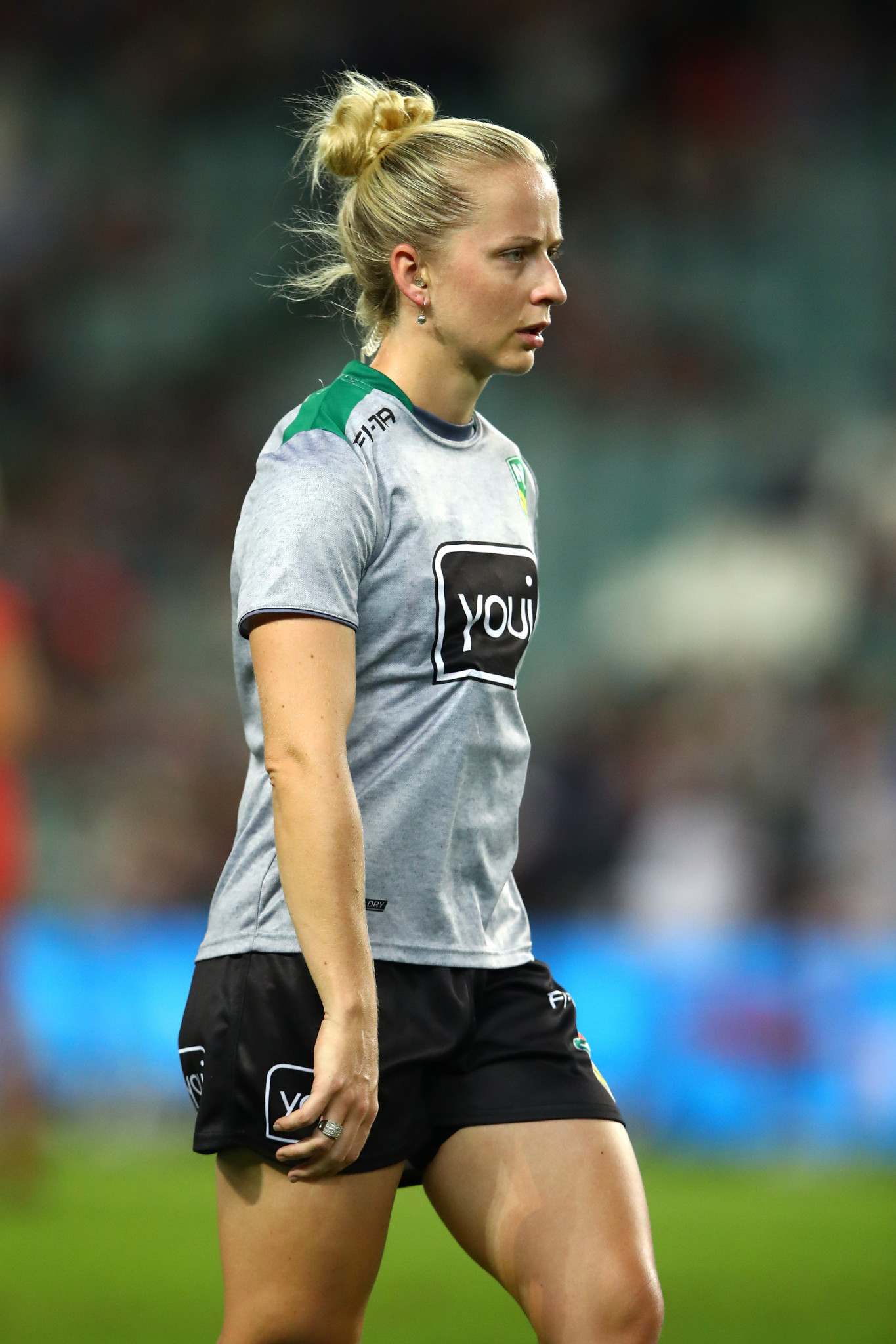 Belinda Sleeman, who will be the first woman ever to officiate at a Rugby League World Cup ©Getty Images