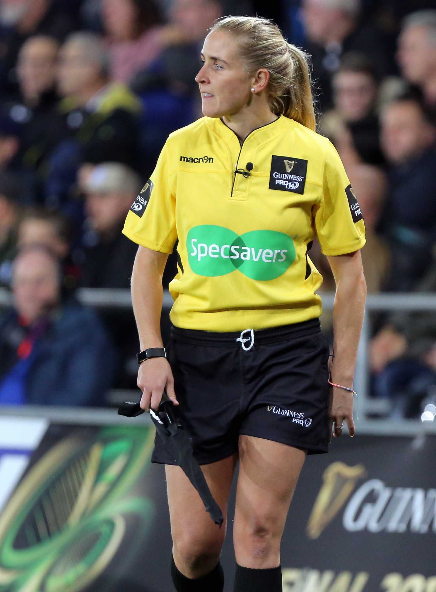 Joy Neville has already made strides as a female official in rugby union ©Getty Images