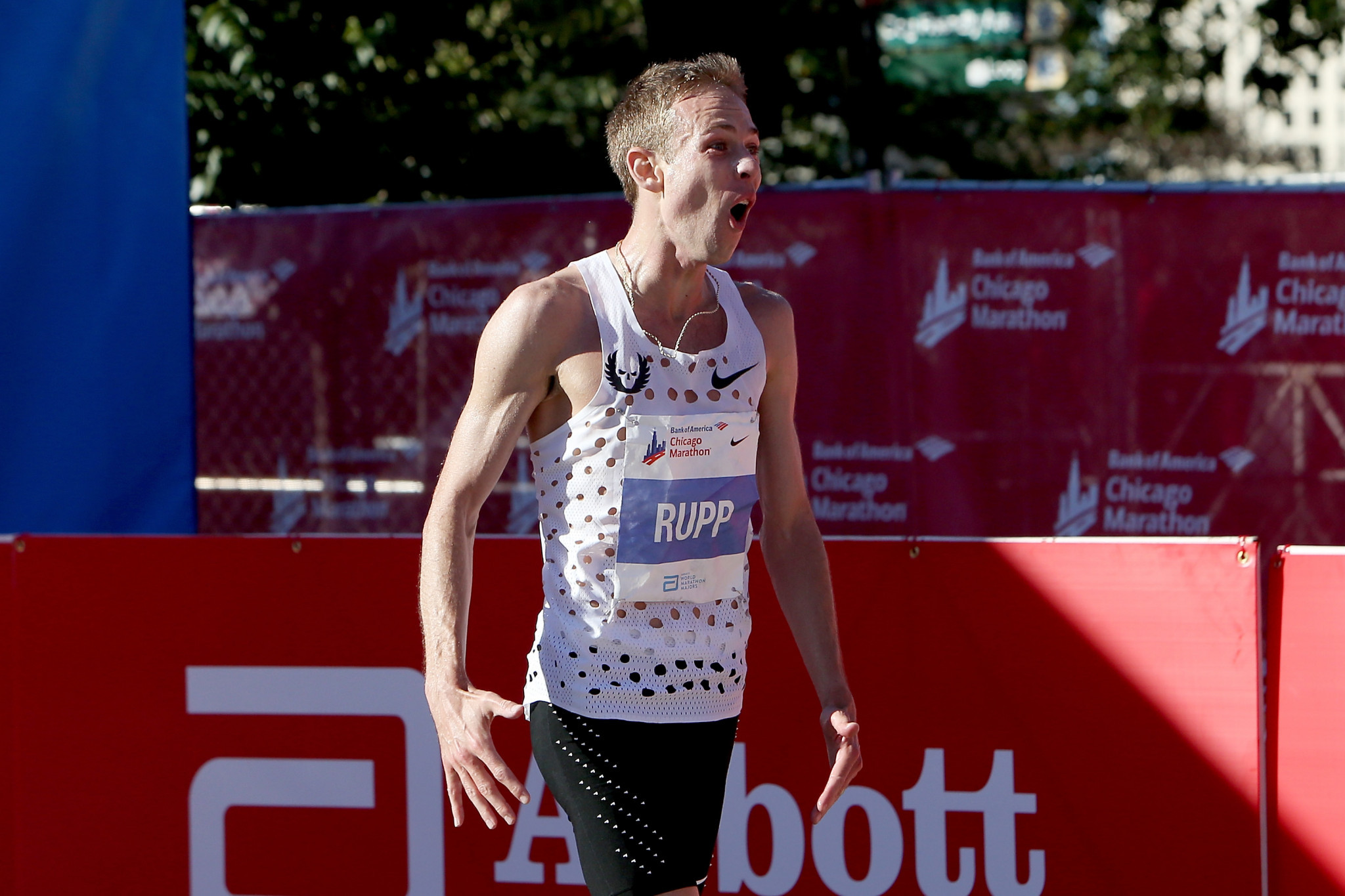 Galen Rupp enjoyed a superb victory at the Chicago Marathon ©Getty Images
