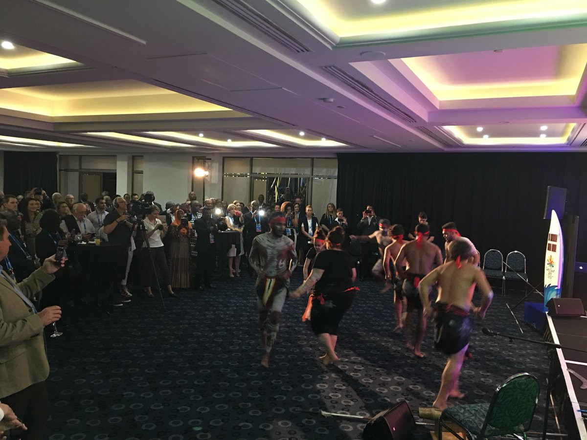 The Yugambet language group have been actively involved in Gold Coast 2018's preparations ©Twitter