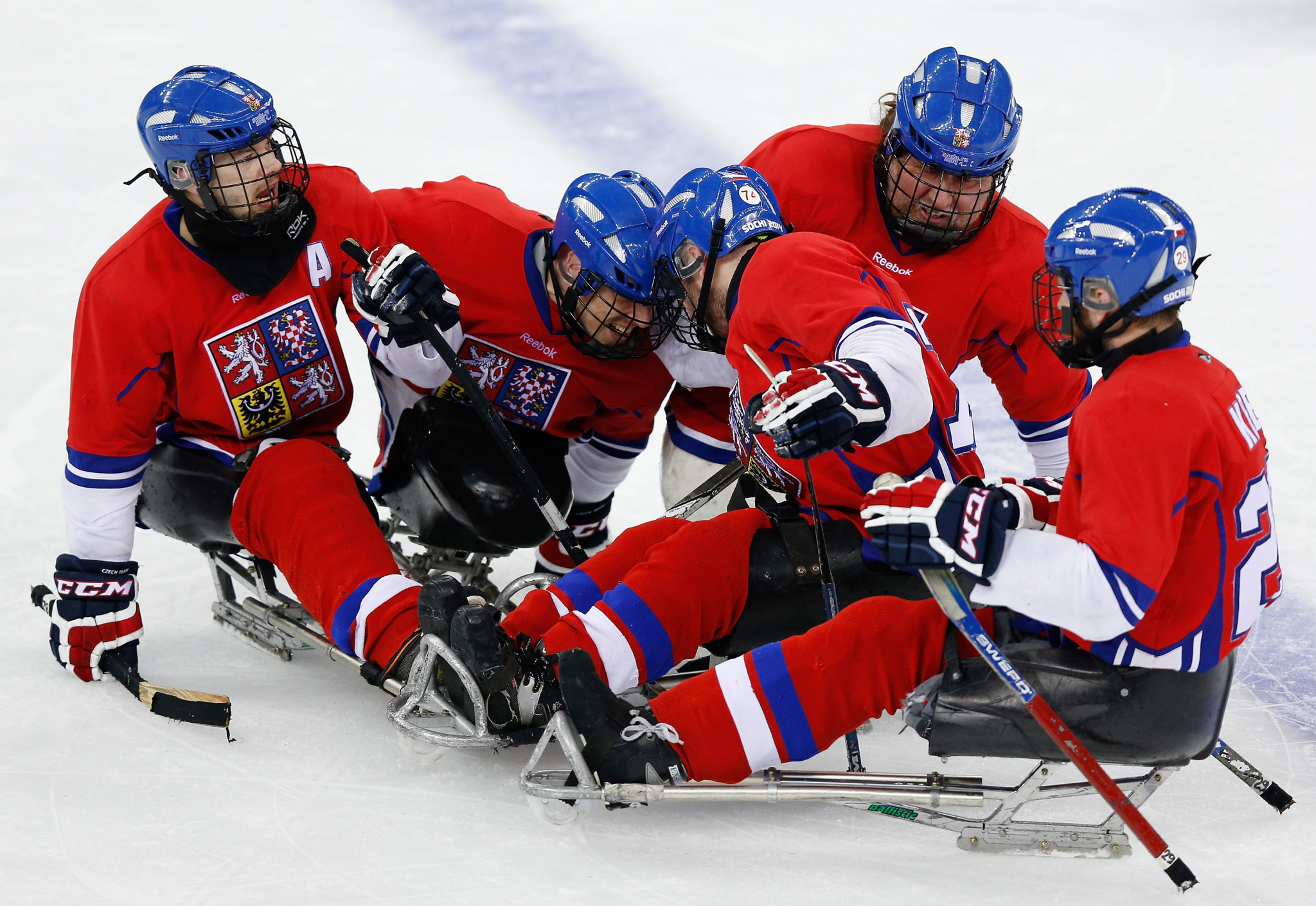 Czech Republic and Japan secure opening wins at World Para Ice Hockey Qualification Tournament