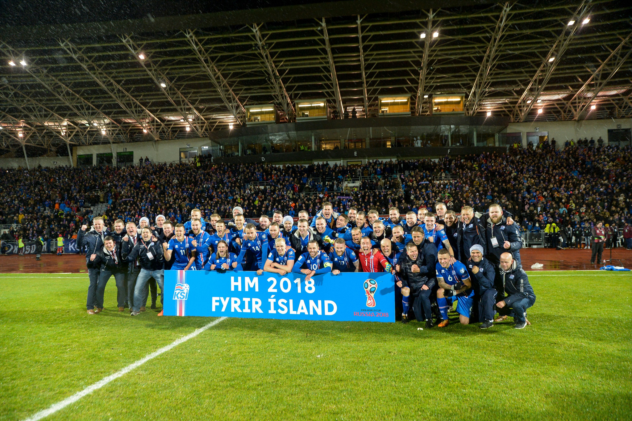 Iceland have become the smallest country by population to qualify for a World Cup ©Getty Images