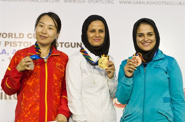 Ahmadi secures maiden ISSF World Cup gold to secure Iranian Rio 2016 quota place