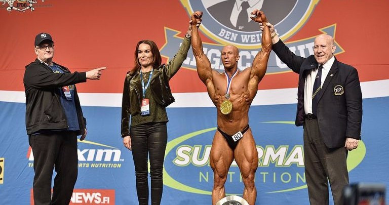 Home bodybuilders on top at IFBB Ben Weider Legacy Cup in Lahti