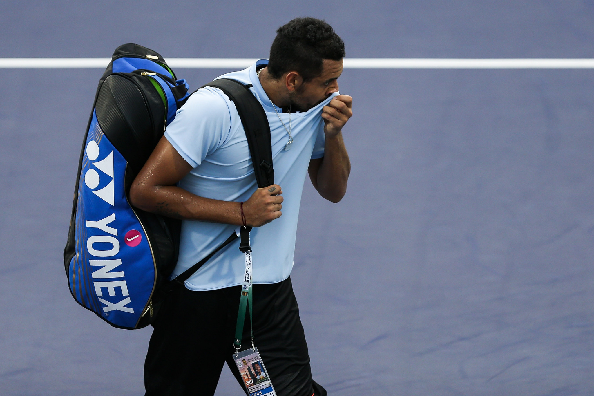 Kyrgios causes controversy with early retirement in first-round match at Shanghai Masters