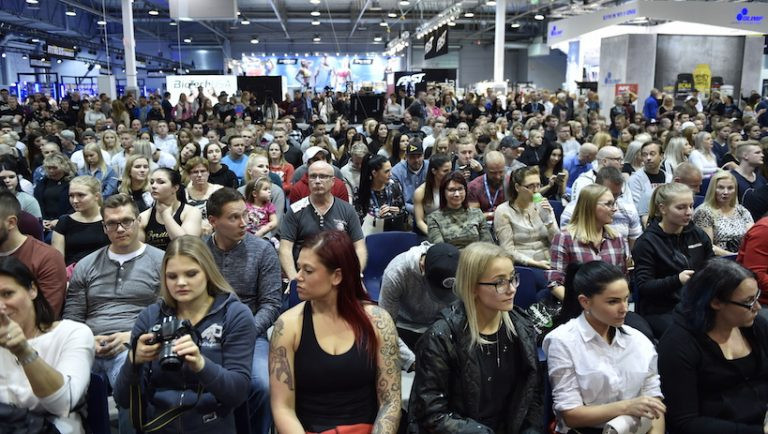 Crowds attending the competition in Lahti ©IFBB