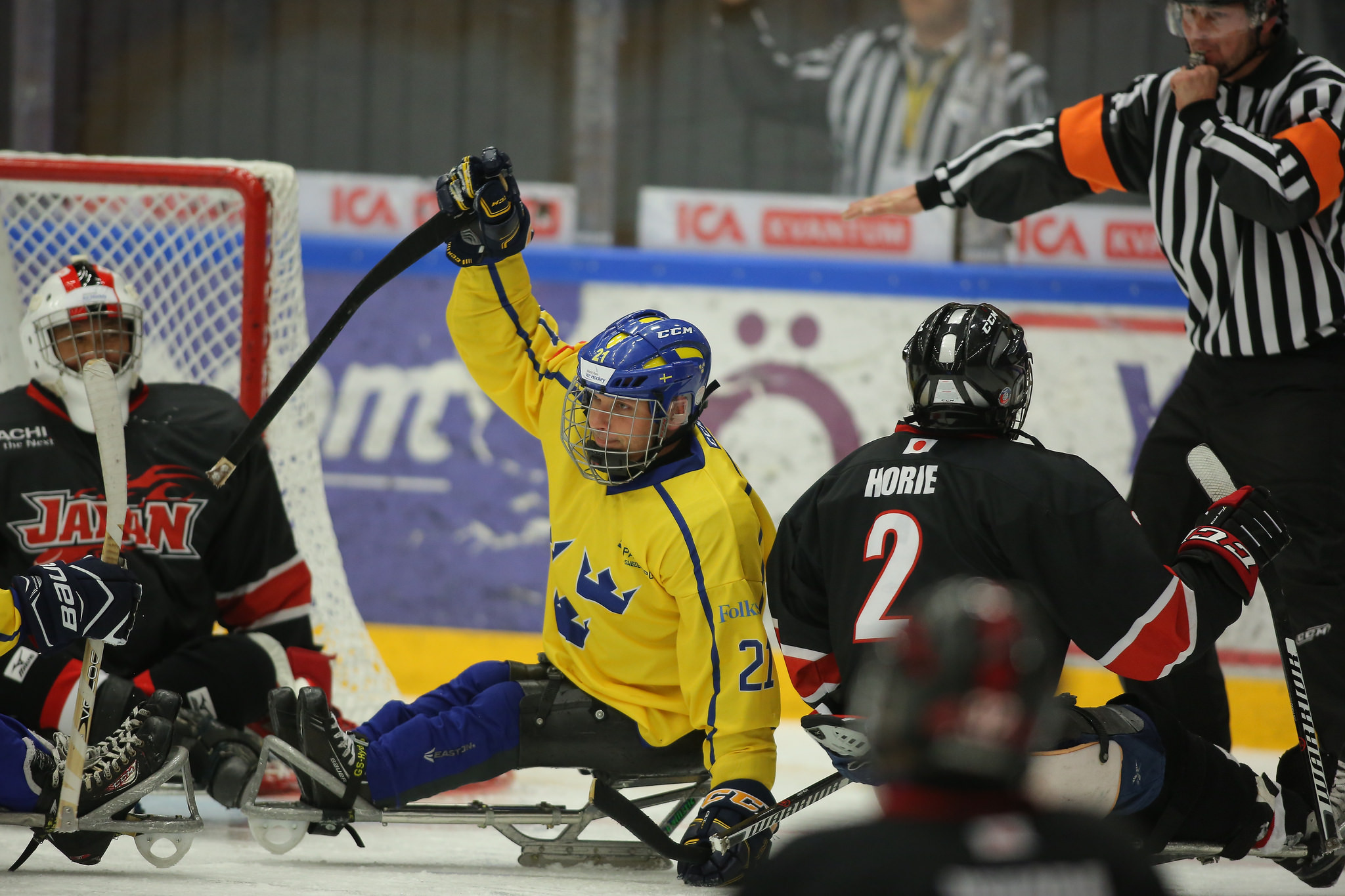 Japan stun hosts Sweden at World Para Ice Hockey Qualification Tournament