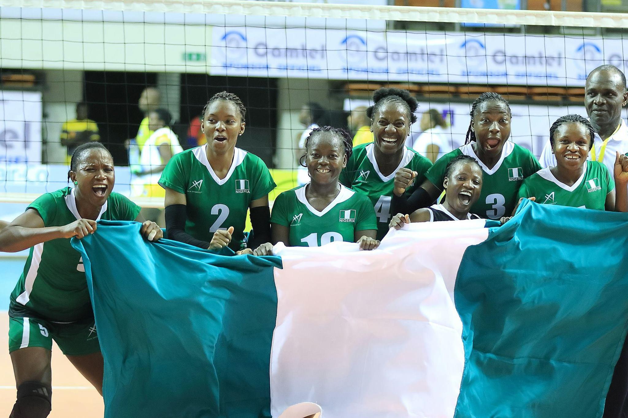 Nigeria enjoyed a comfortable victory over Democratic Republic of Congo ©CAVB