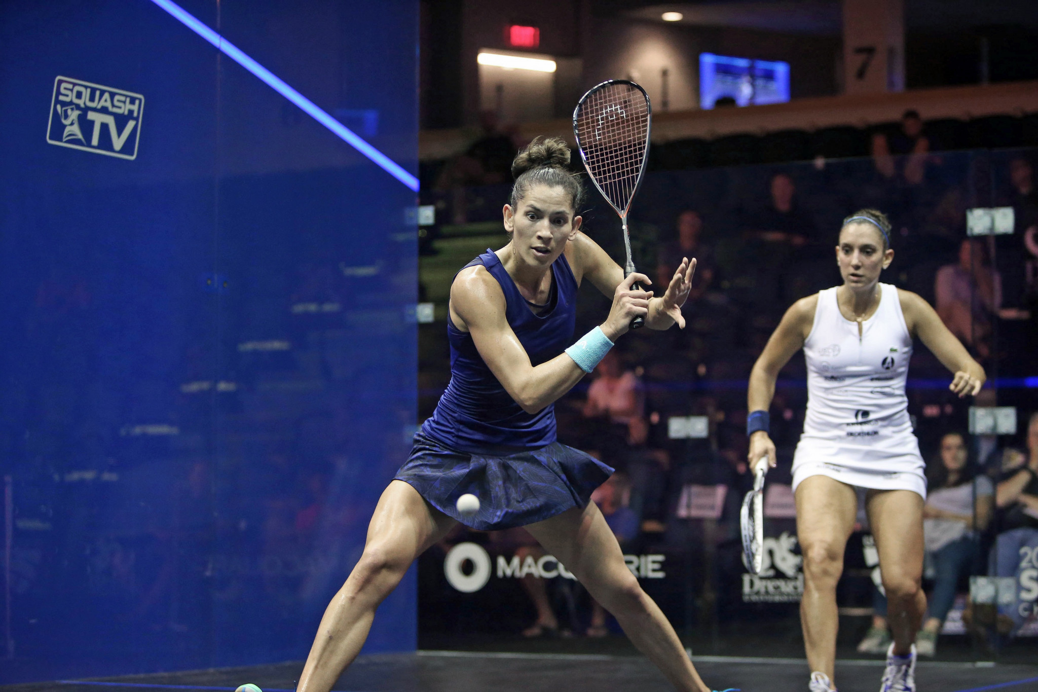 King ends Serme title defence at PSA US Open to reach last eight