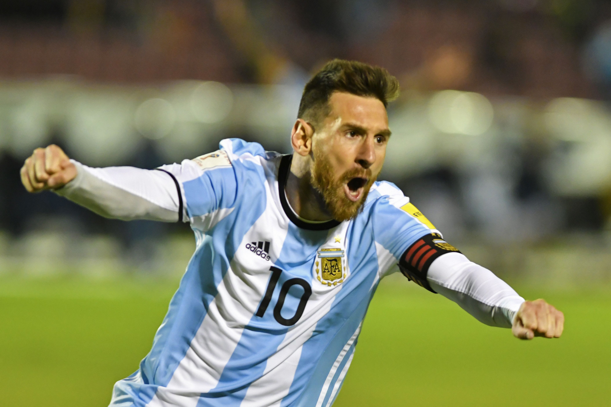 a53d978149d Messi hat-trick guides Argentina to 2018 FIFA World Cup