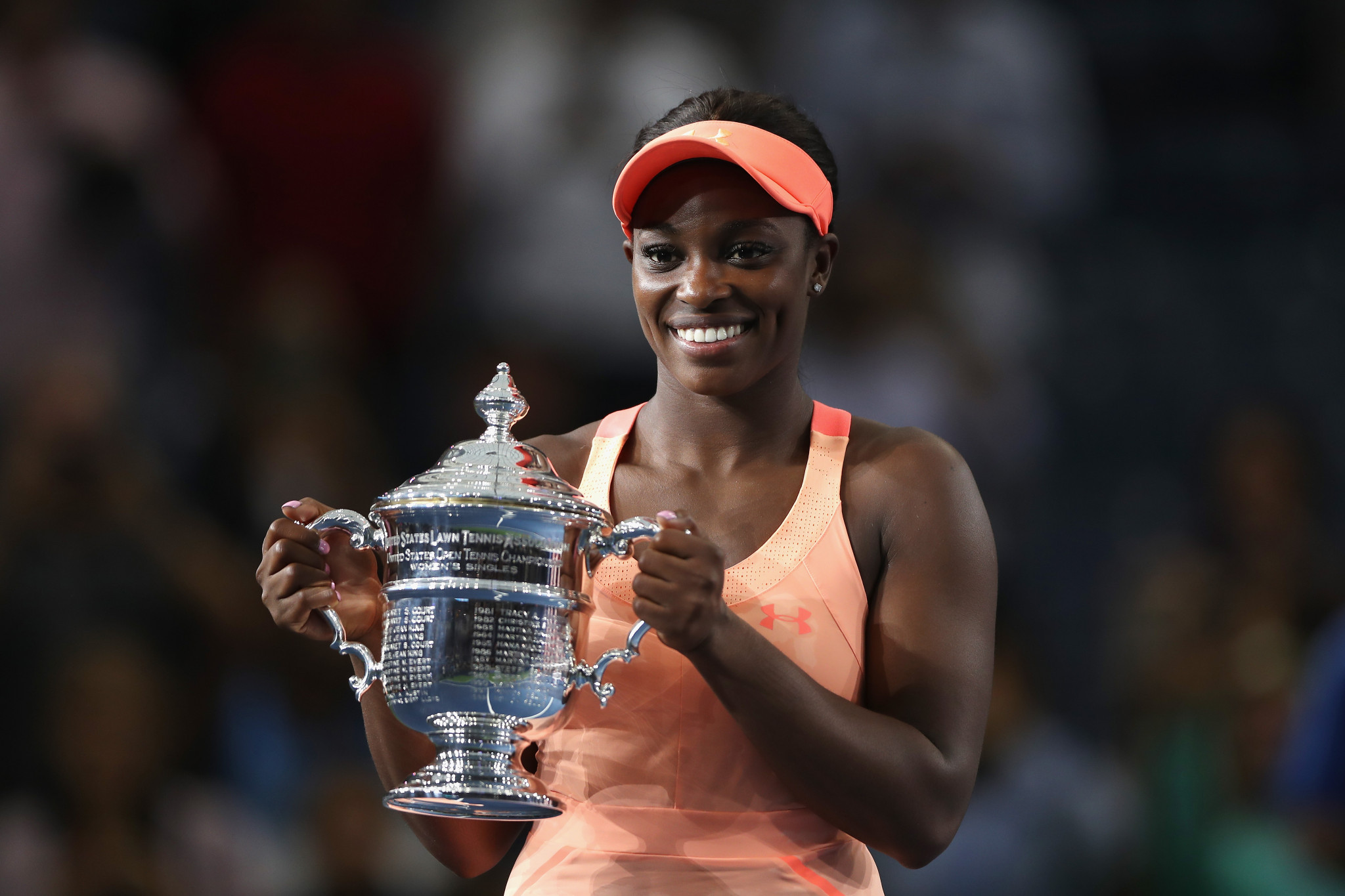 Sloane Stephens won the women's USOC Best of September Team USA award ©Getty Images