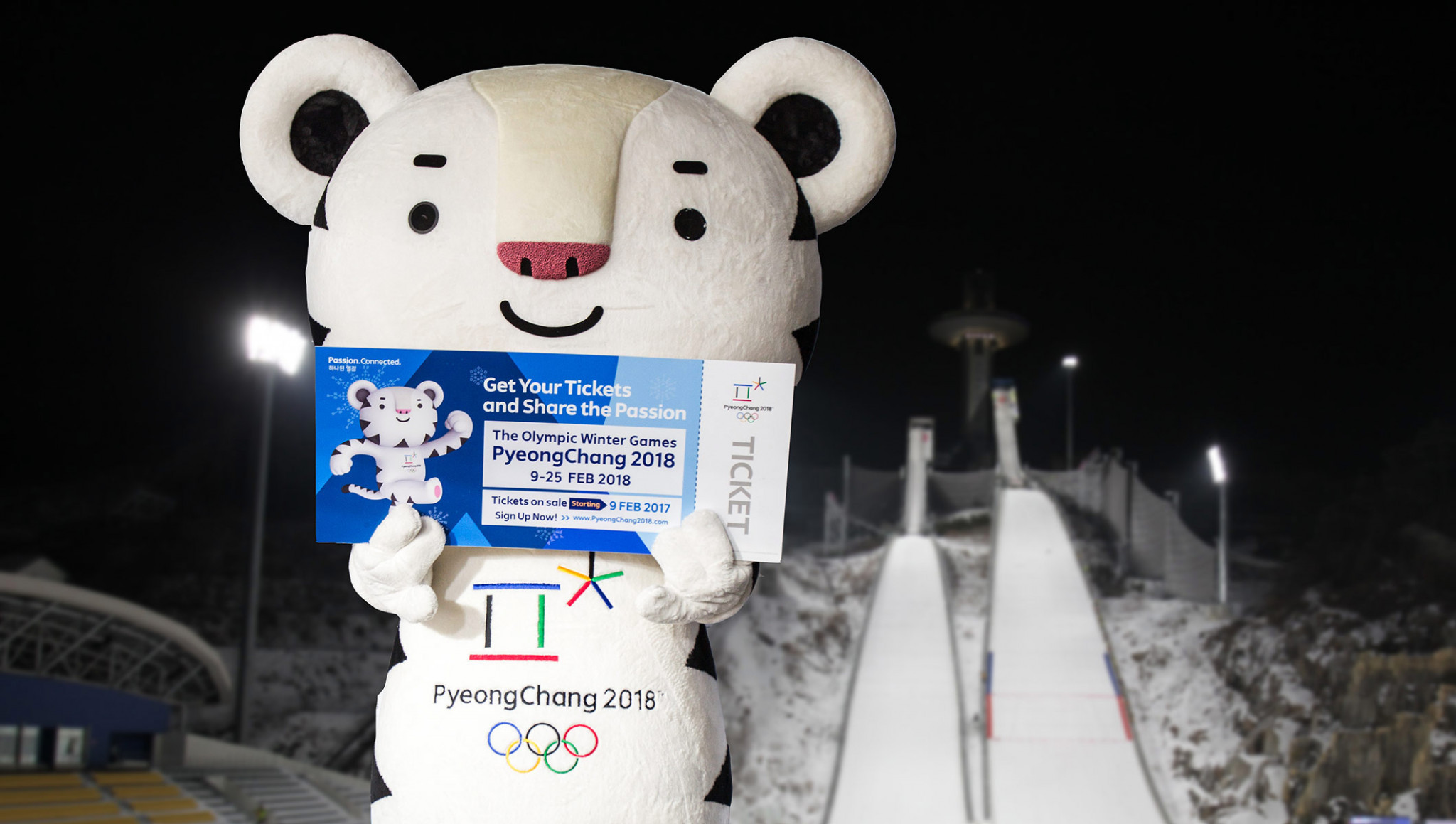 Only 30.3 per cent of tickets for next year's Winter Olympic and Paralympic Games have been sold with less than four months to go ©IOC