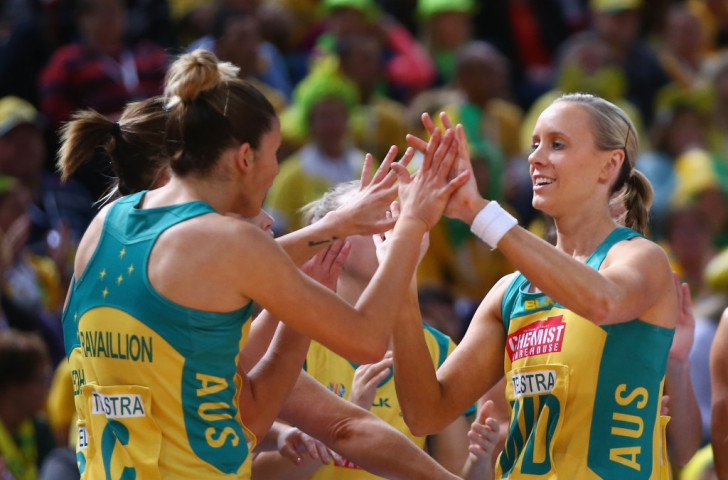 Australia bounce back from shock New Zealand defeat to beat England at Netball World Cup