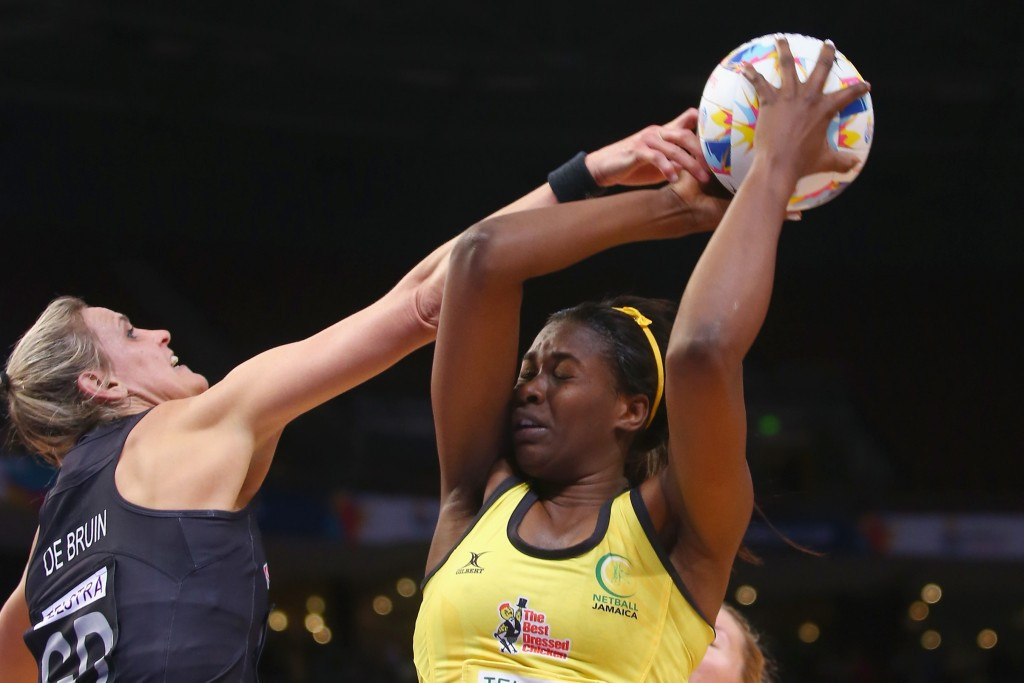 New Zealand edged Jamaica in a physical contest to maintain their impressive start to the tournament