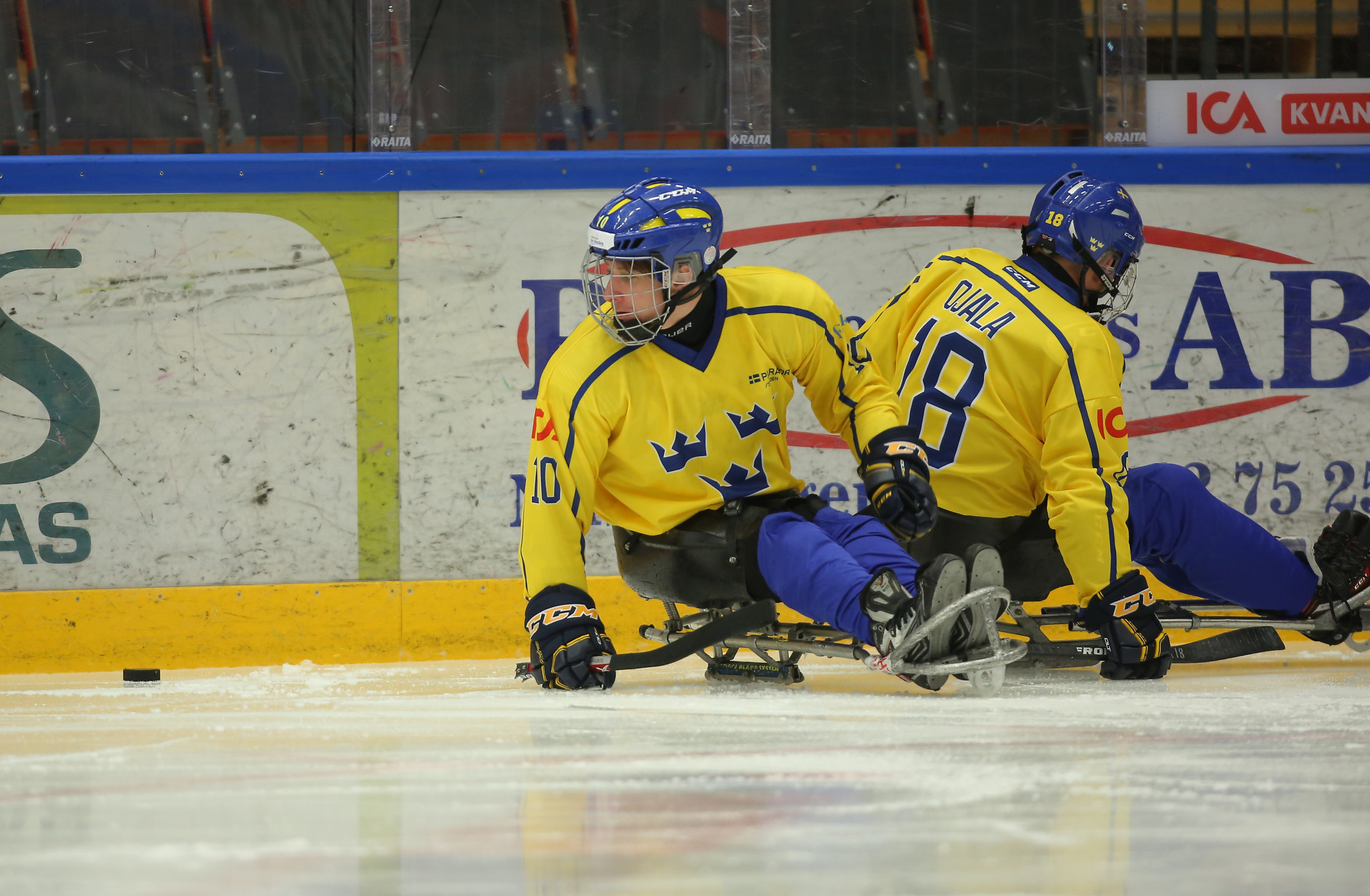 Sweden suffered a second defeat in as many days today ©IPC