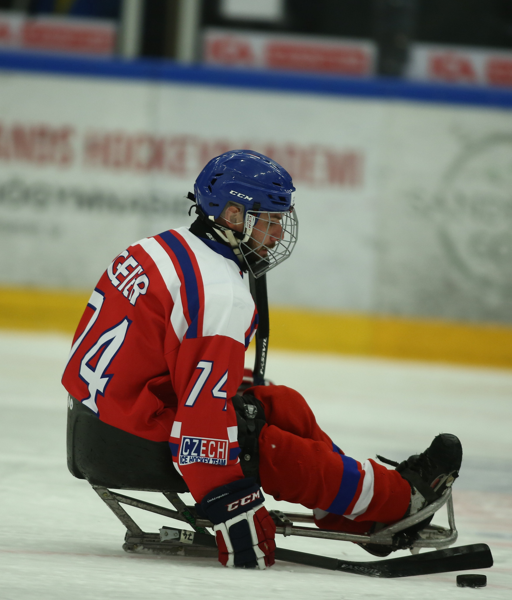 Michal Geier recorded a hat-trick as the Czech Republic ran out 5-1 winners against Germany ©IPC