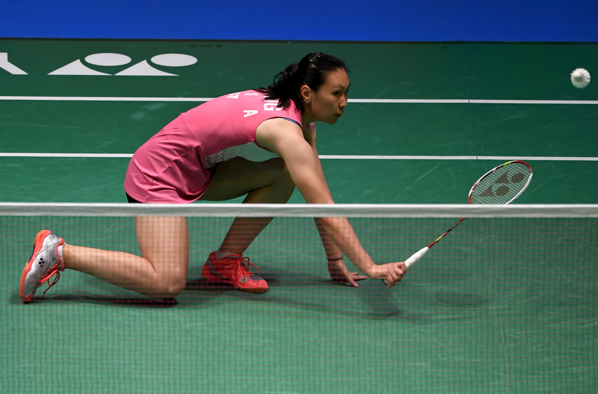 Top seed Zhang eases through to second round at BWF Dutch Open