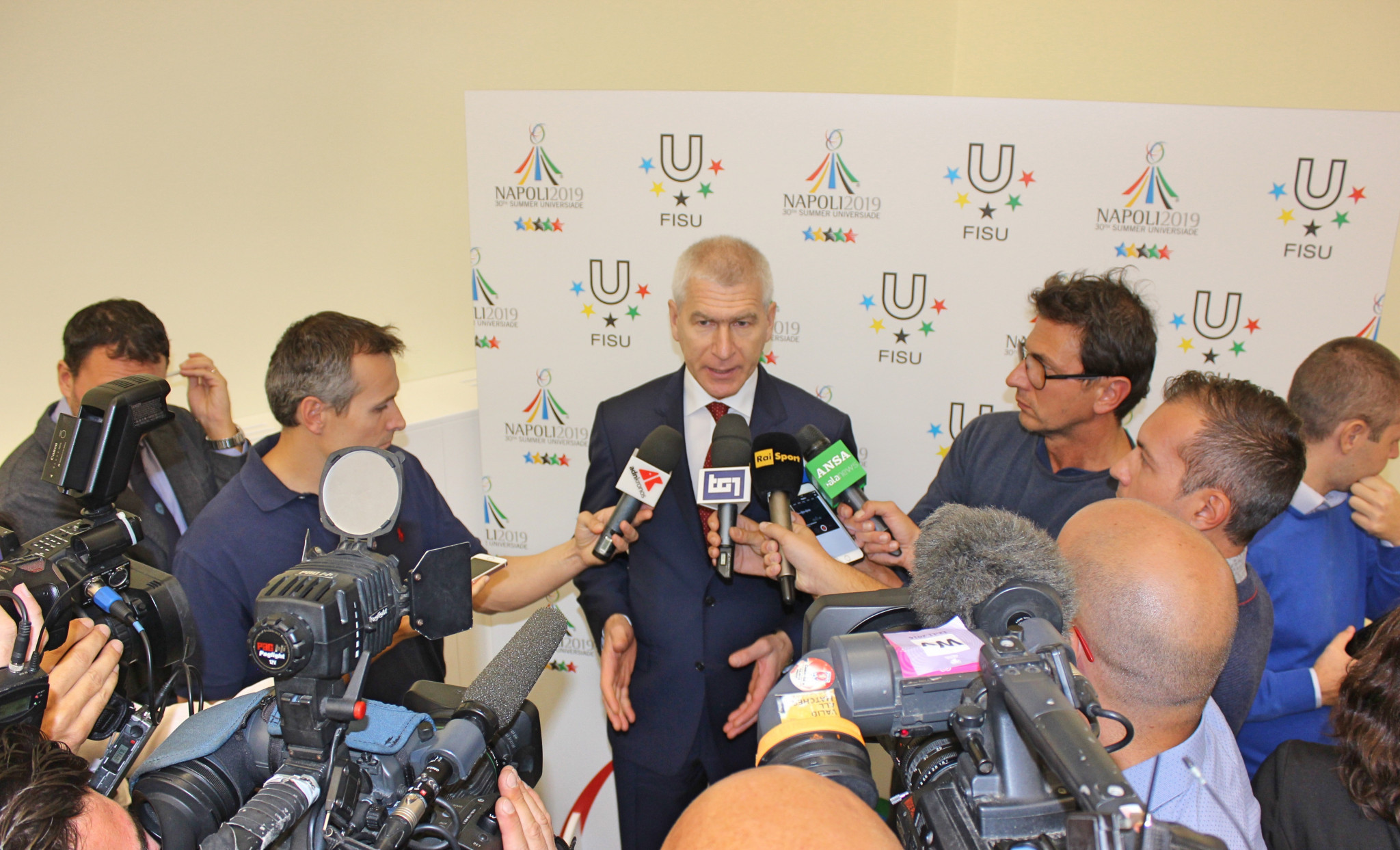 FISU President Oleg Matytsin has called for creative solutions due to the short timeframe in delivering the Universiade ©FISU