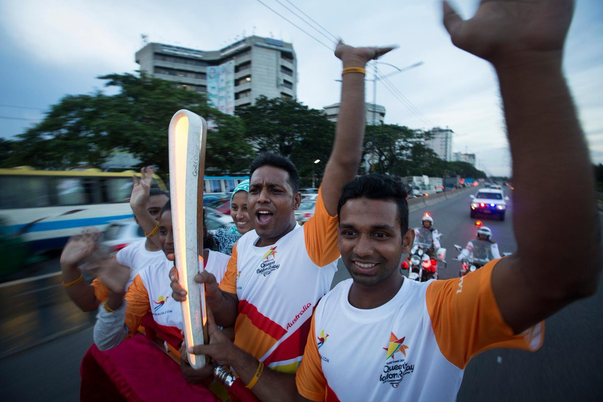 Bangladesh has hosted the Baton for the past four days ©Gold Coast 2018