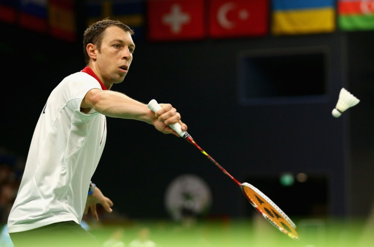 Israel's Misha Zilberman was knocked out of the Badminton World Championships after finally being granted a visa ©Getty Images