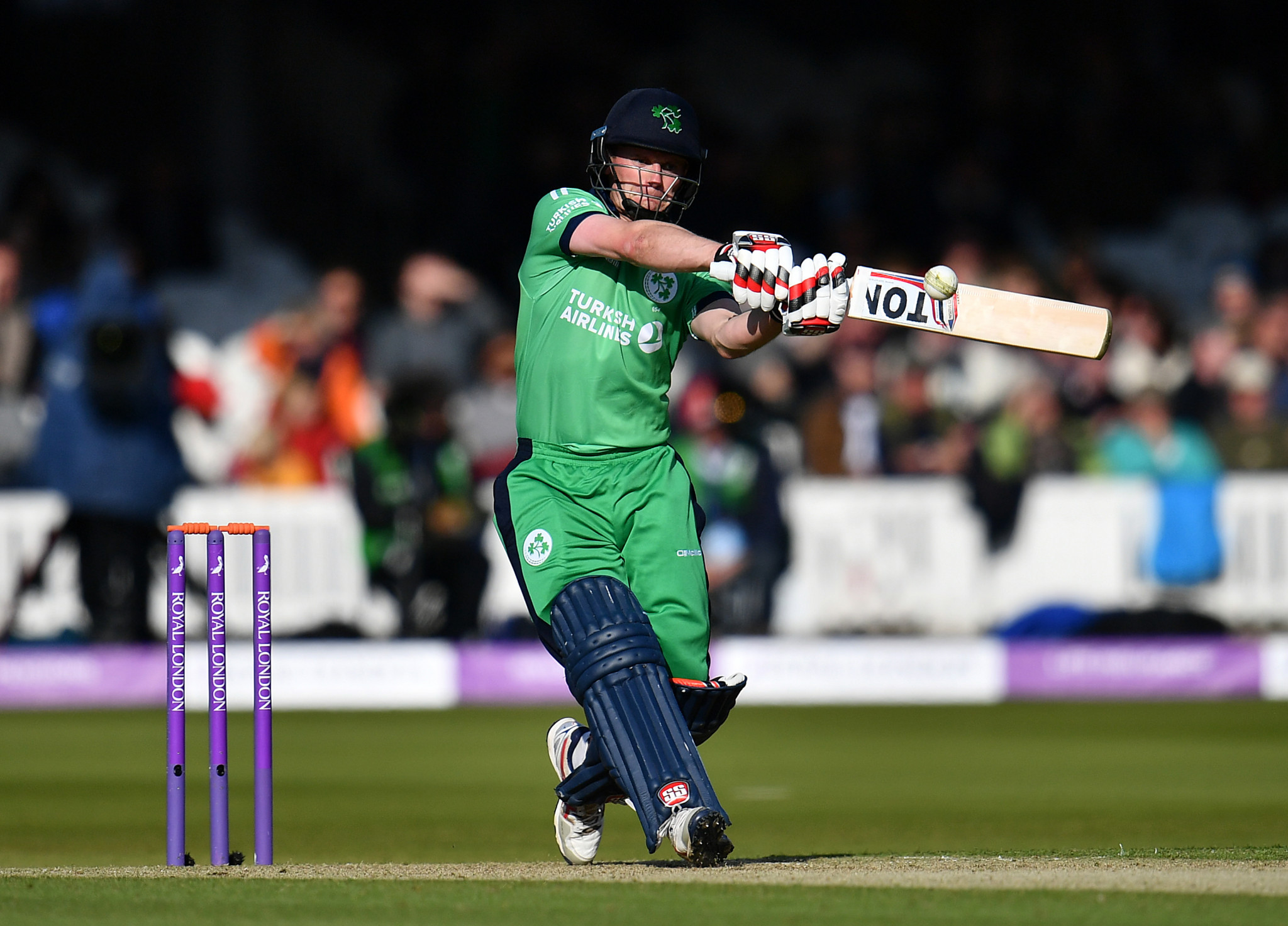 Irish cricketers to play Pakistan in first test match