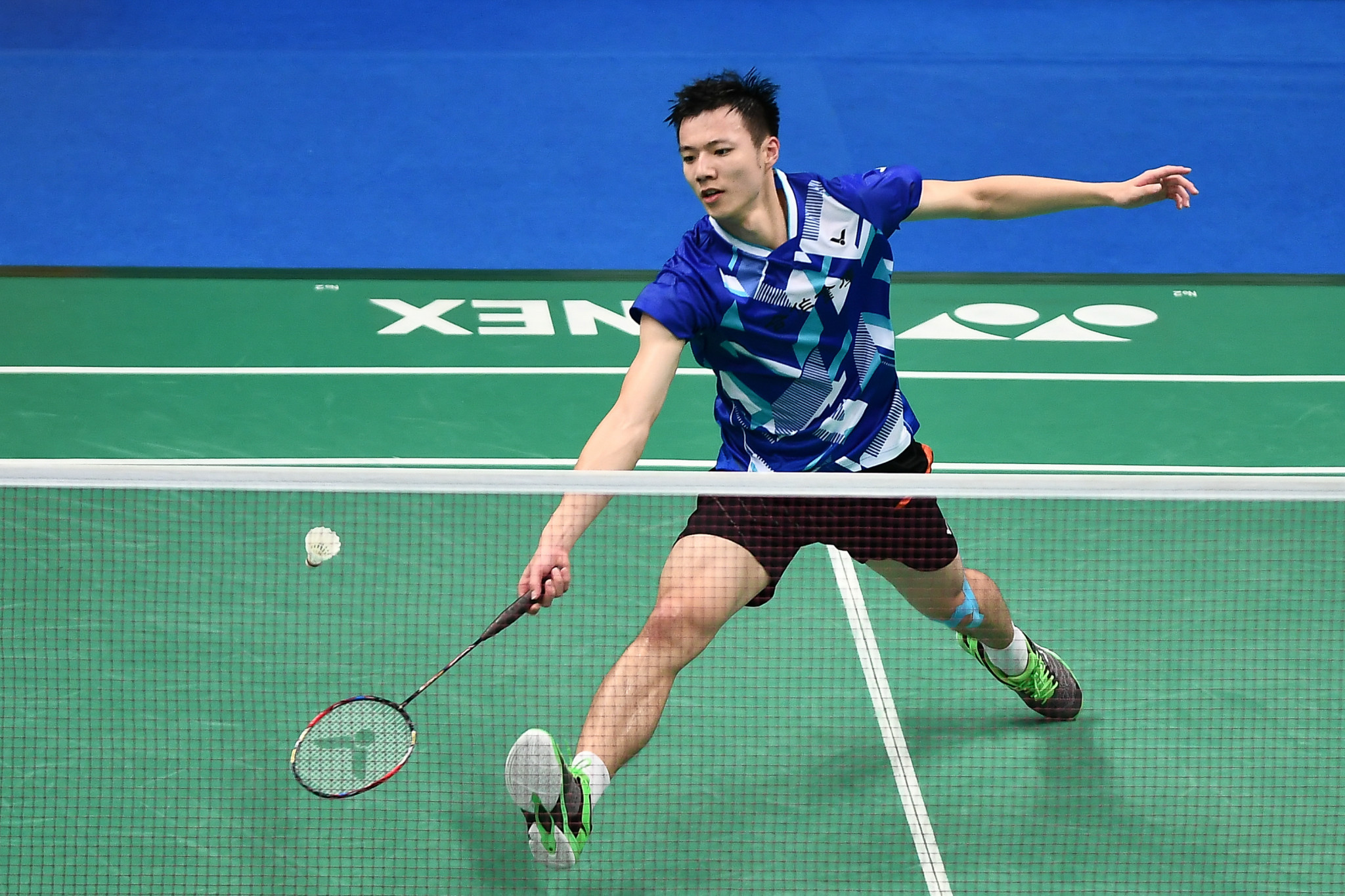 Top seed Wang through to last eight at BWF Dutch Open