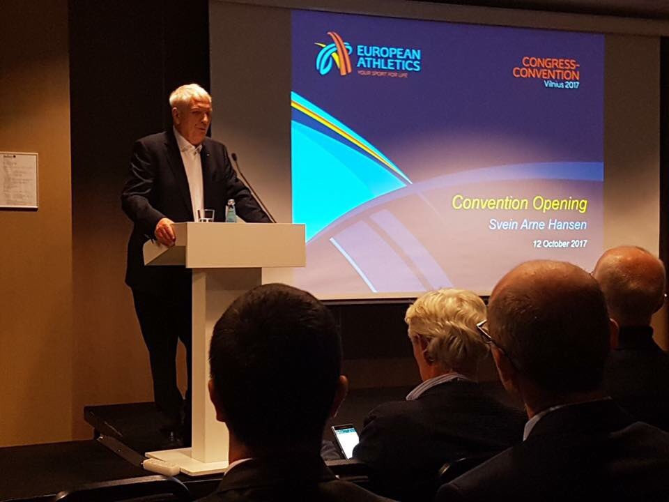 European Athletics President insists sport is not dying as 2017 Convention officially opens