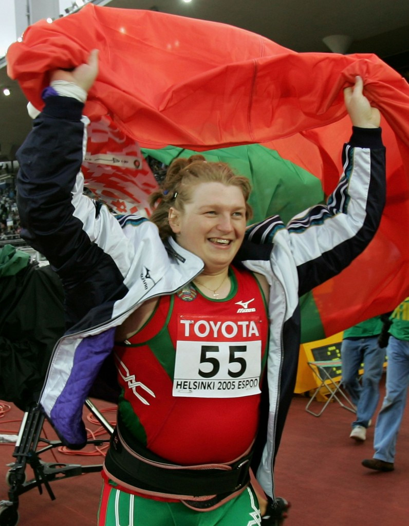 Belarussian Nadzeya Ostapchuk has already been stripped of the shot put gold medal she won at the 2005 IAAF World Championships following a re-analysis of samples