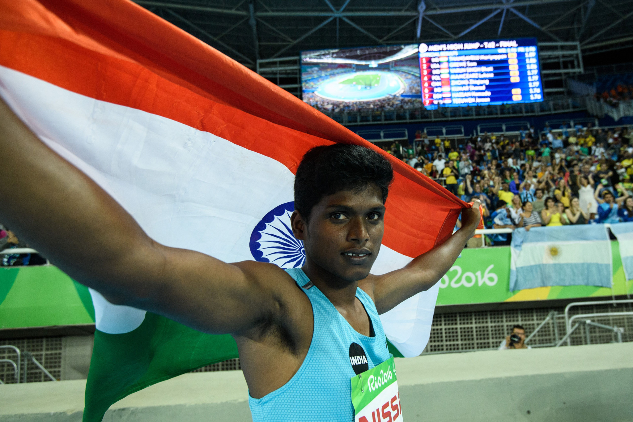 Indian Paralympic gold medallist accused of murder