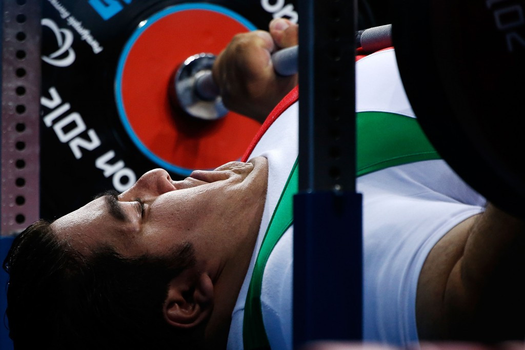 Iran's powerlifter Siamand Rahman is aiming to win his second Paralympic gold medal at Rio 2016 having won at London 2012