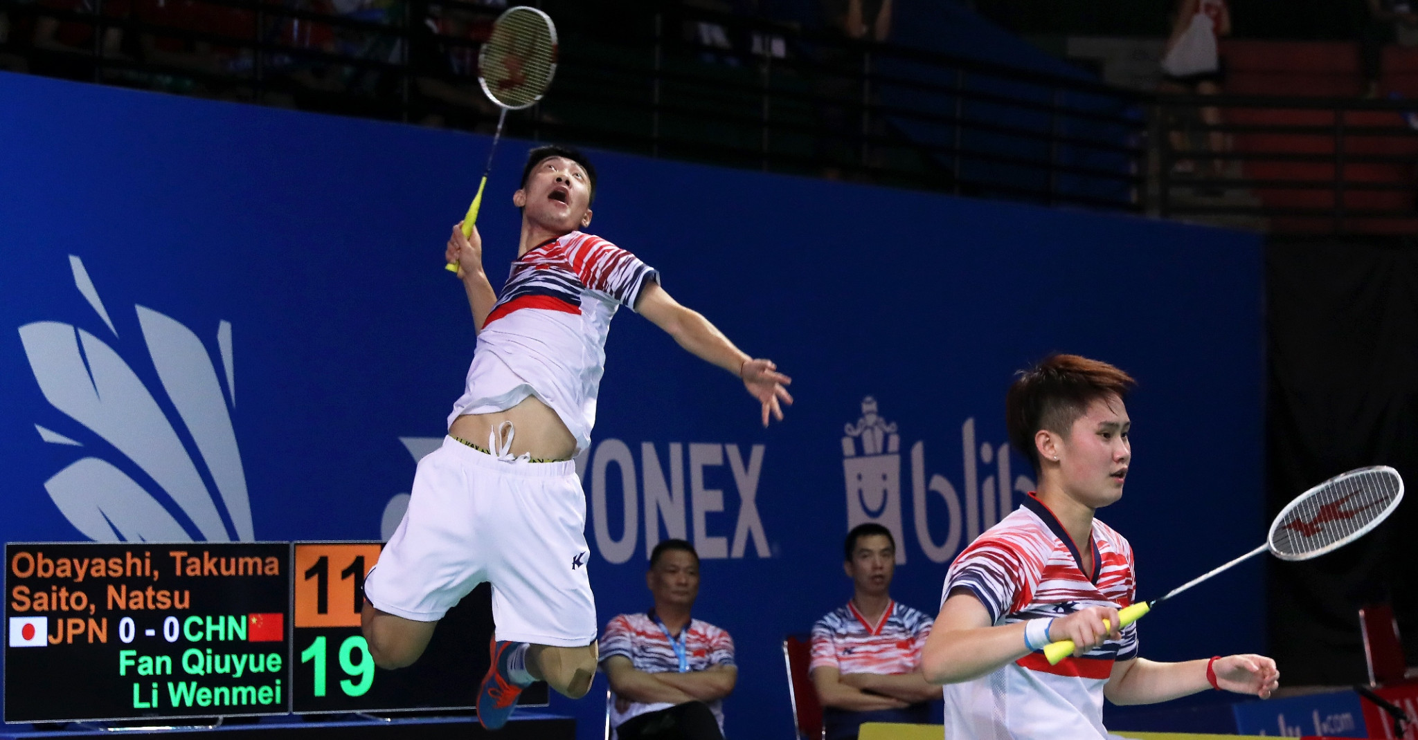 China and Malaysia to contest final of mixed team event at BWF World Junior Championships