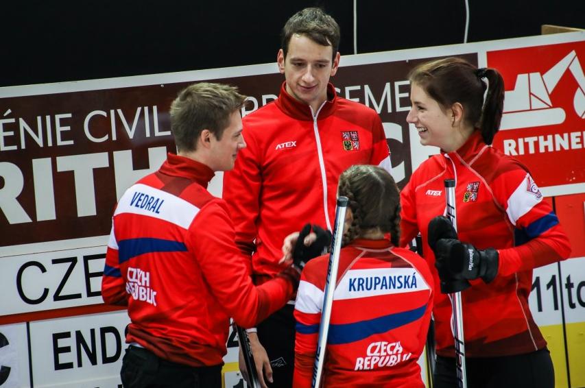 The Czech Republic defeated Estonia to reach the semi-finals ©WCF