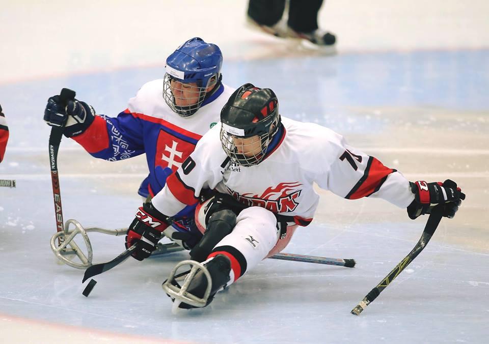 Japan's victory ended the chances of Slovakia ©World Para Ice Hockey