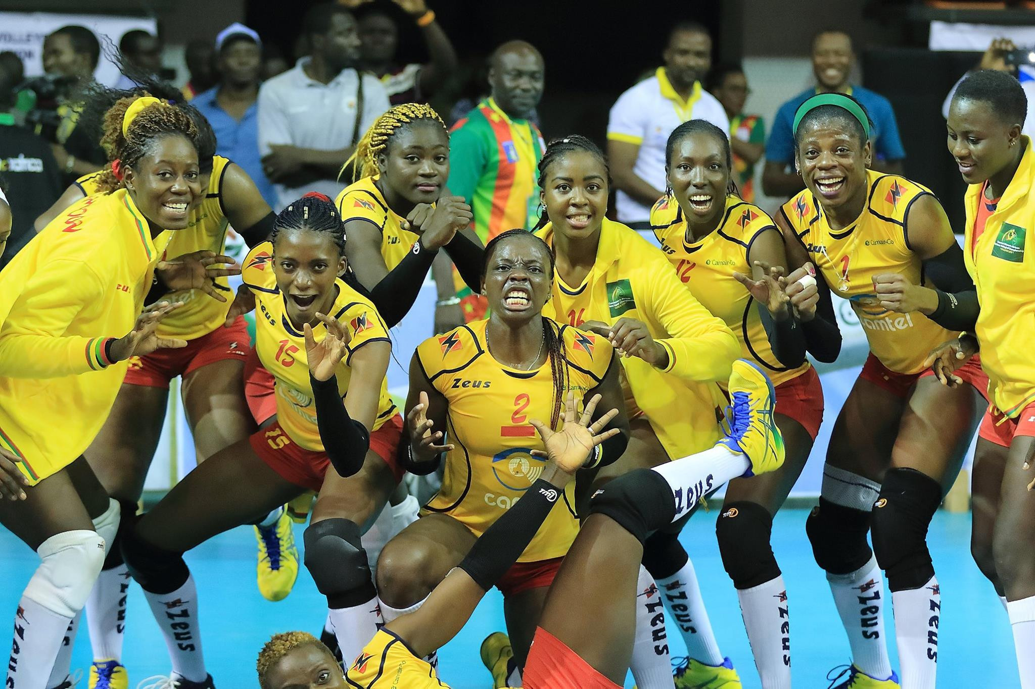 Cameroon are through to the final on home soil ©CAVB