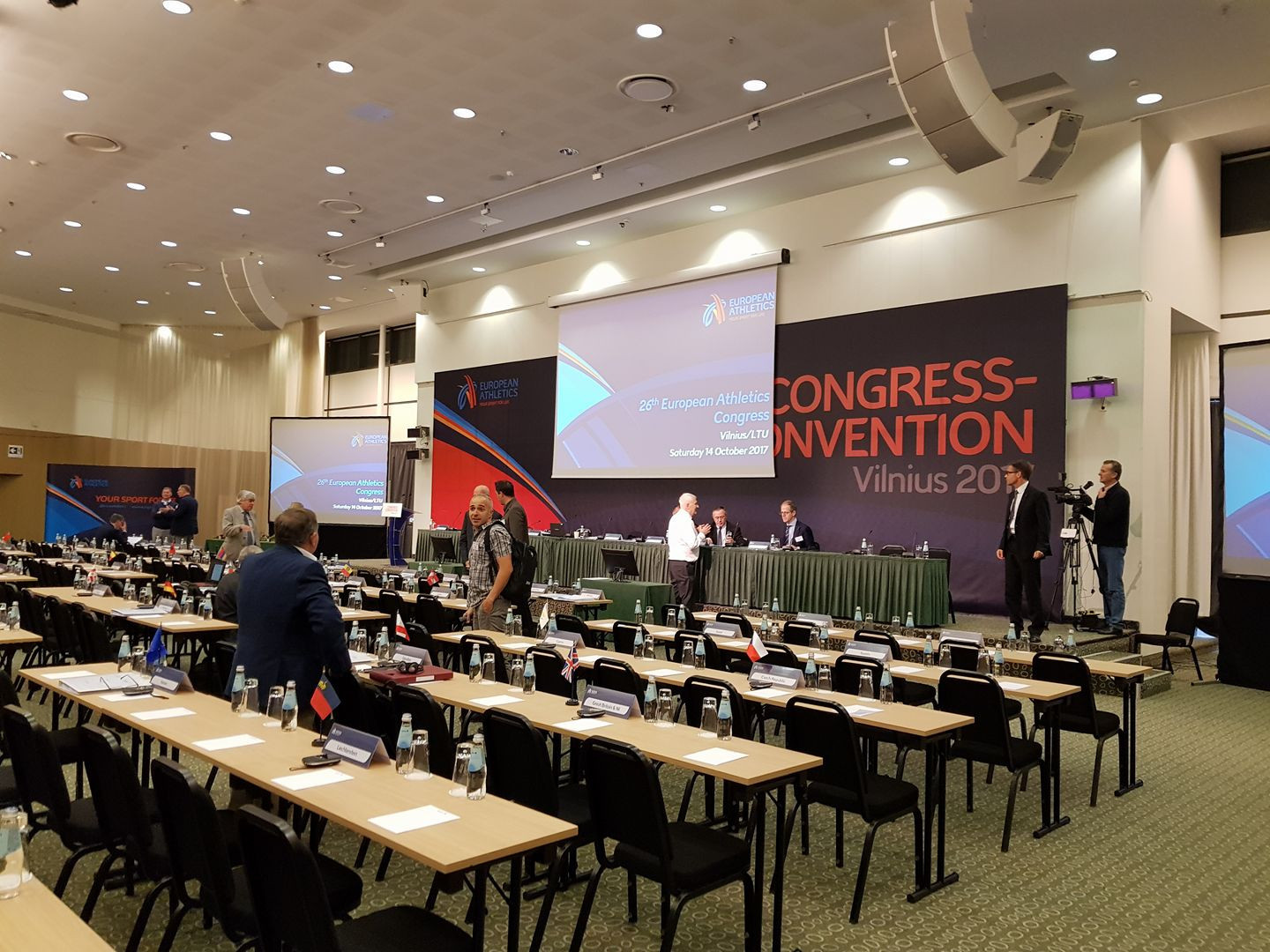 Day three of the 2017 European Athletics Convention and Congress