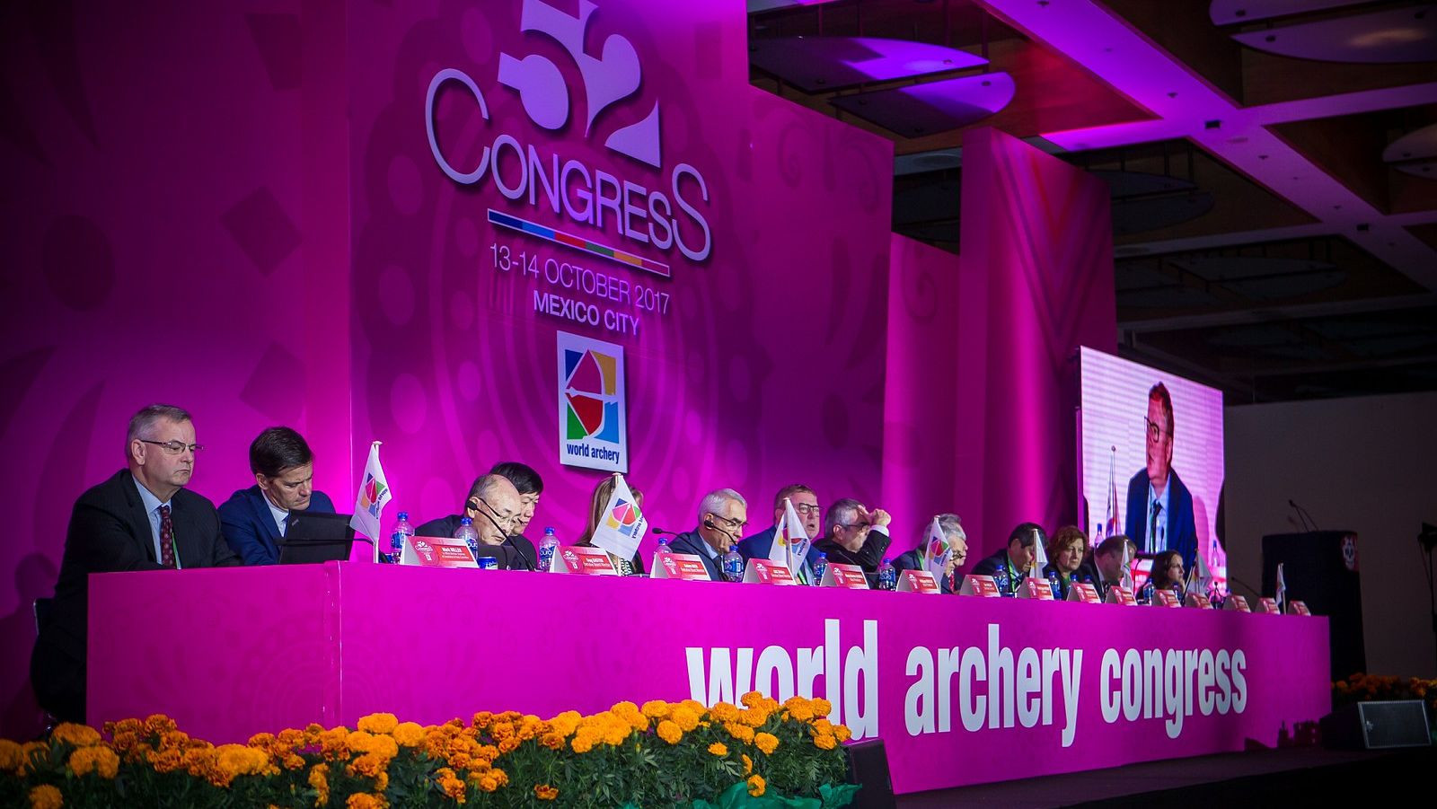 Three members excluded for non-payment of fees at World Archery Congress