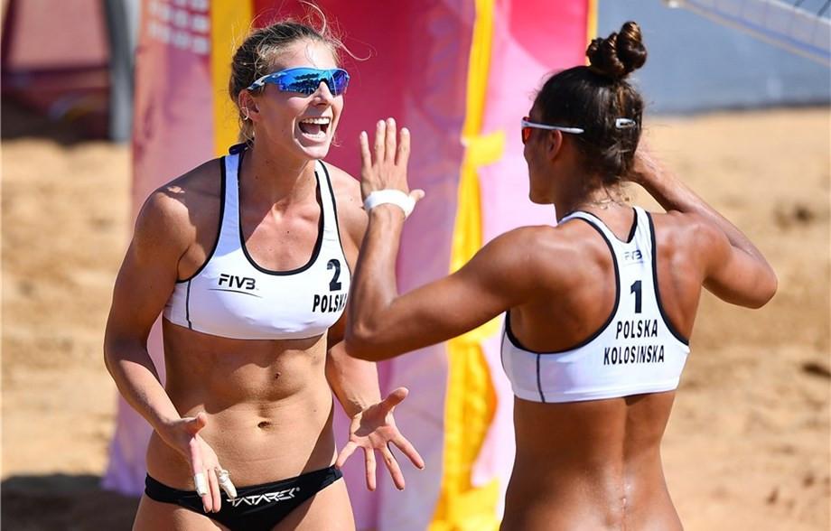 Polish underdogs reach final at FIVB Beach World Tour Qinzhou Open