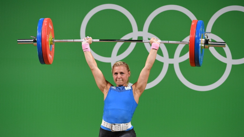 Sweden's Angelica Roos would be among the main contenders for home success if the 2018 European Weighlifting Federation are held in Halmstad ©Getty Images