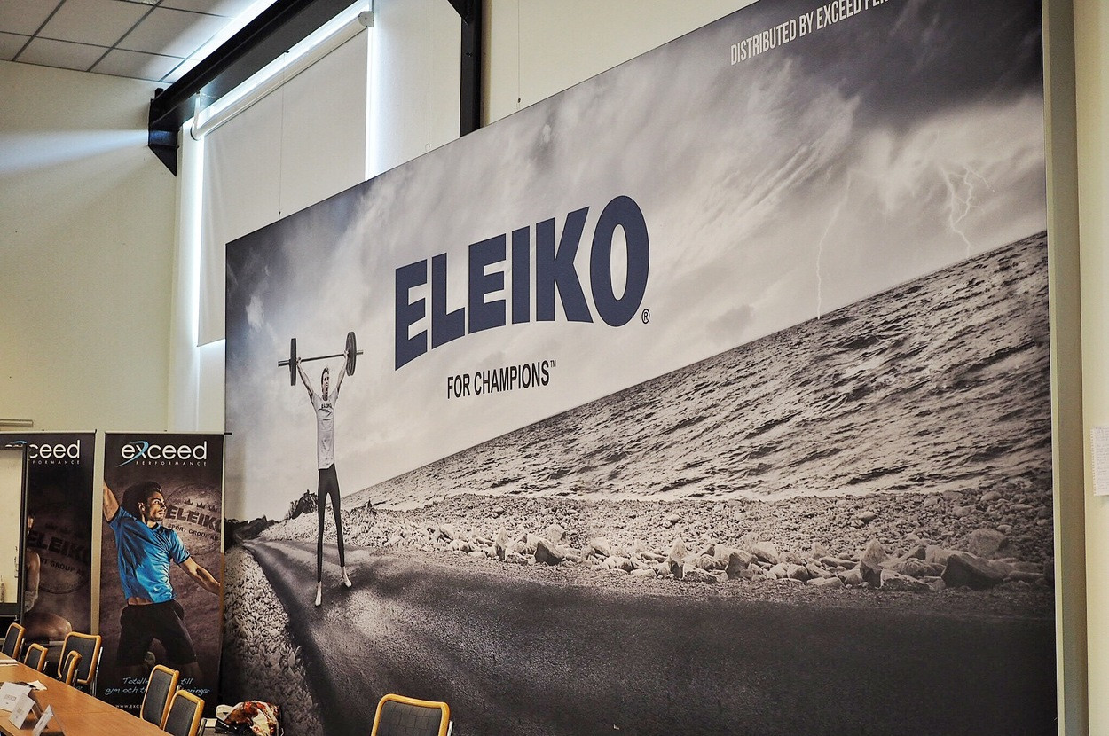 Swedish equipment manufacturer Eleiko are based in Halmstad and have promised to help with the organisation of the 2018 European Championshipsif the city hosts them ©Eleiko