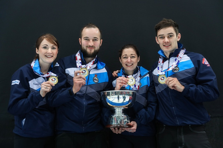 Scotland edge Canada to win World Mixed Curling Championships