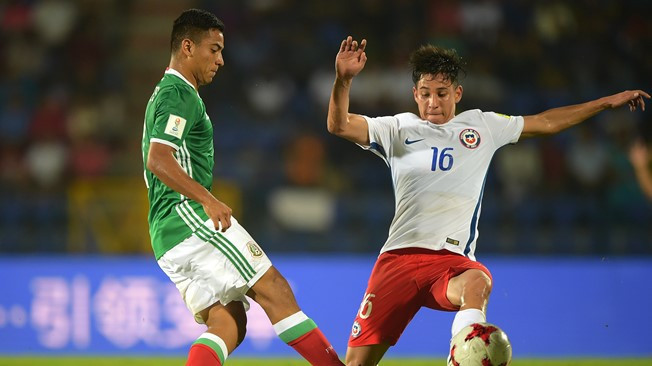 Mexico book place in last 16 after draw with Chile at FIFA Under-17 World Cup